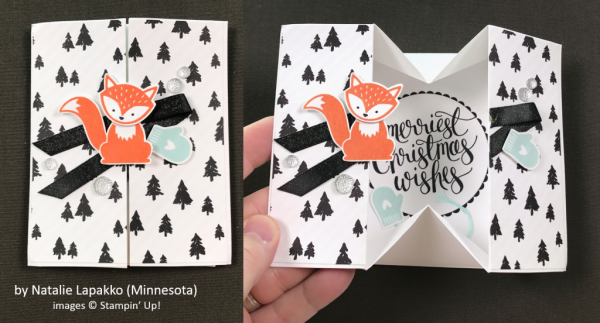 by Natalie Lapakko, Stampin' Up!, Holiday One-for-One Swap