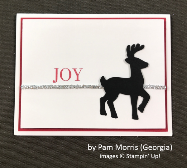 by Pam Morris, Stampin' Up!, Holiday One-for-One Swap