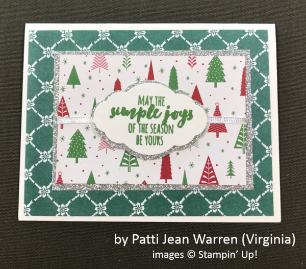 by Patti Jean Warren, Stampin' Up!, Holiday One-for-One Swap
