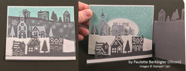 by Paulette Birkbigler, Stampin' Up!, Holiday One-for-One Swap