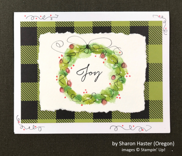 by Sharon Haster, Stampin' Up!, Holiday One-for-One Swap