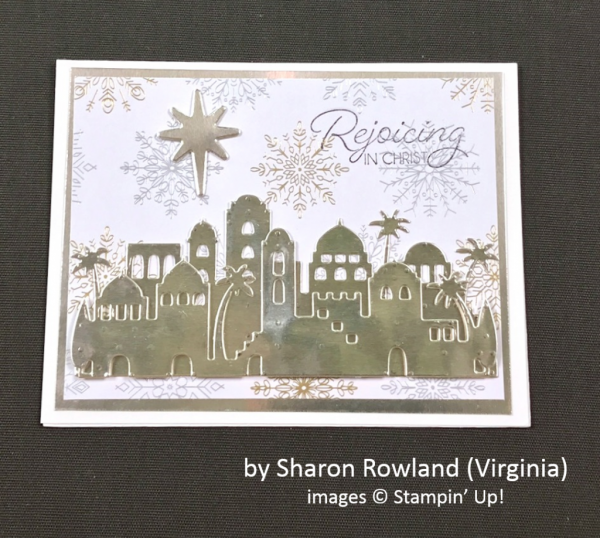 by Sharon Rowland, Stampin' Up!, Holiday One-for-One Swap