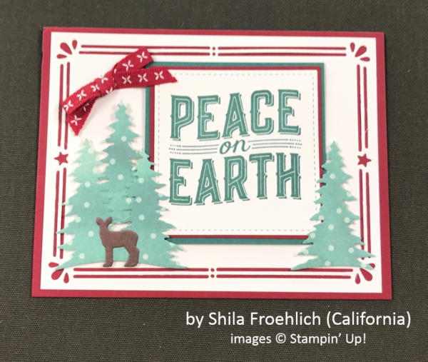 by Shila Froehlich, Stampin' Up!, Holiday One-for-One Swap