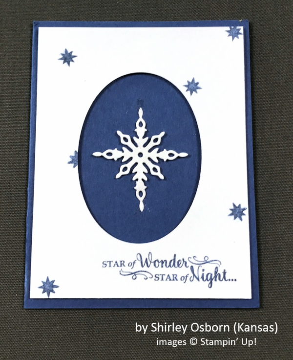 by Shirley Osborn, Stampin' Up!, Holiday One-for-One Swap