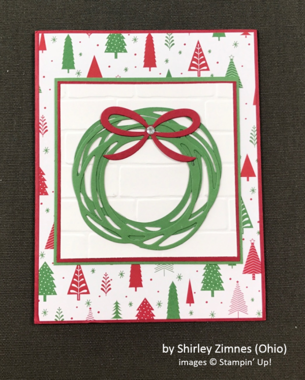 by Shirley Zimnes, Stampin' Up!, Holiday One-for-One Swap