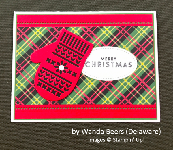 by Wanda Beers, Stampin' Up!, Holiday One-for-One Swap