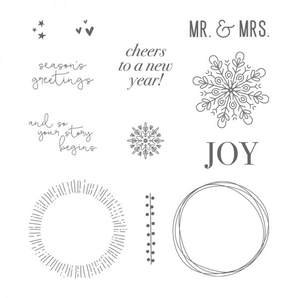 Cheers to the Year, Stampin' Up! 144928