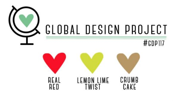 Stampin' Up! Color Inspiration: Real Red, Lemon Lime Twist, Crumb Cake