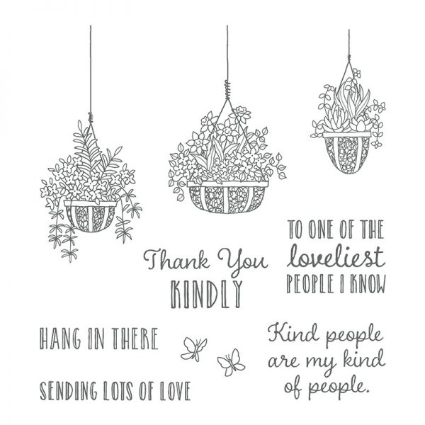 Hanging Gardens, Stampin' Up!, 146239