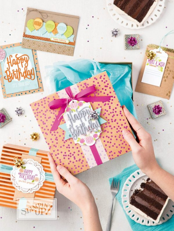 Happy Birthday Gorgeous Suite, Stampin' Up!