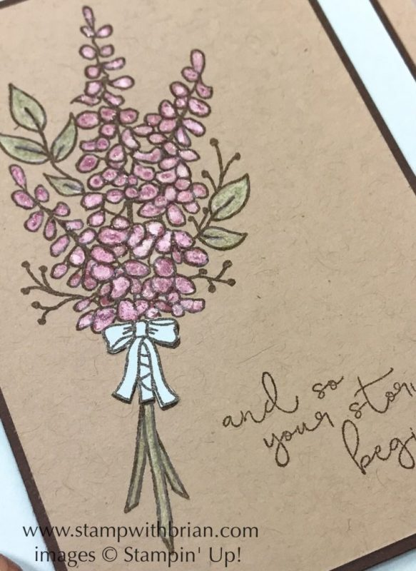 Lots of Lavender, Cheers to the Year, Stampin' Up!, Brian King, GDP116