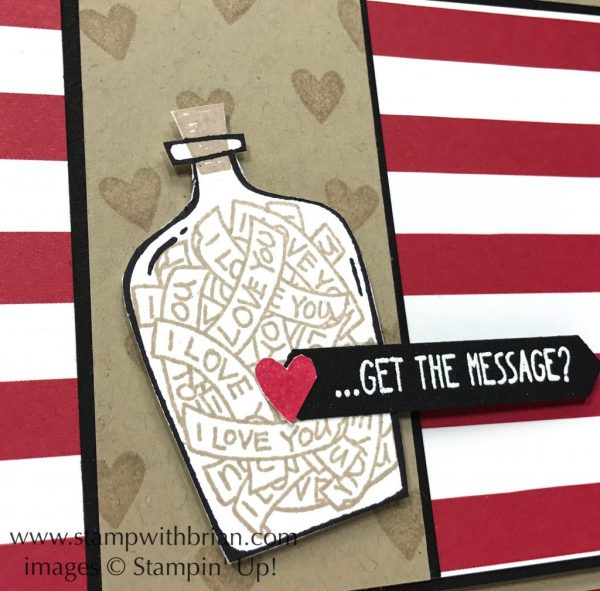 Message in a Bottle, Christmas Around the World Designer Series Paper, Stampin' Up!, Brian King, GDP118