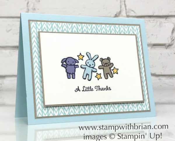 A little thanks with moon baby stamp with brian moon baby one big meaning stampin up brian king baby filmwisefo