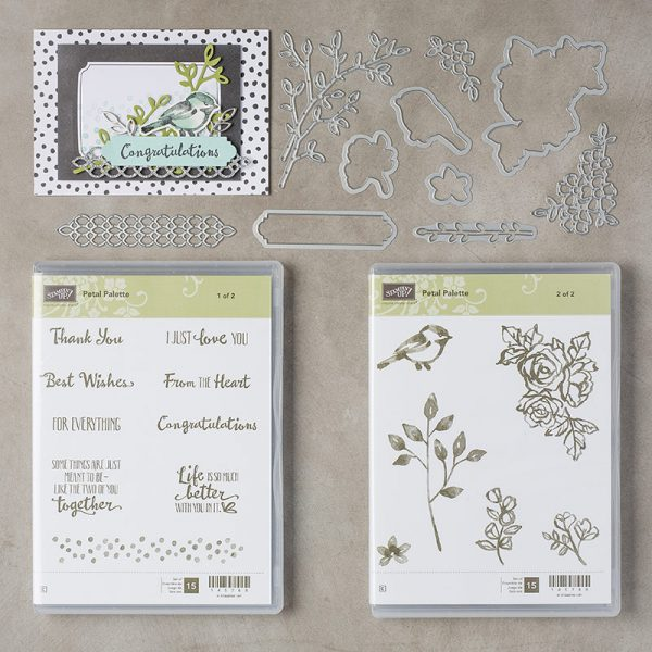 Petal Palette Bundle, Stampin' Up!, 145974