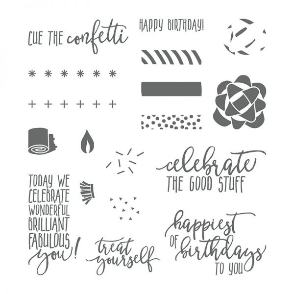 Picture Perfect Birthday, Stampin' Up! 145519
