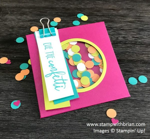 Picture Perfect Birthday, Stampin' Up!, Brian King