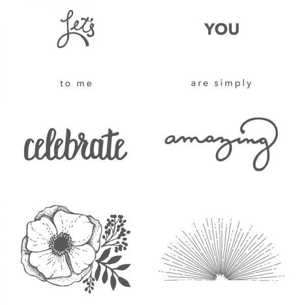 Amazing You, Stampin' Up! 147215
