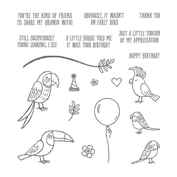 Bird Banter, Stampin' Up! 145852