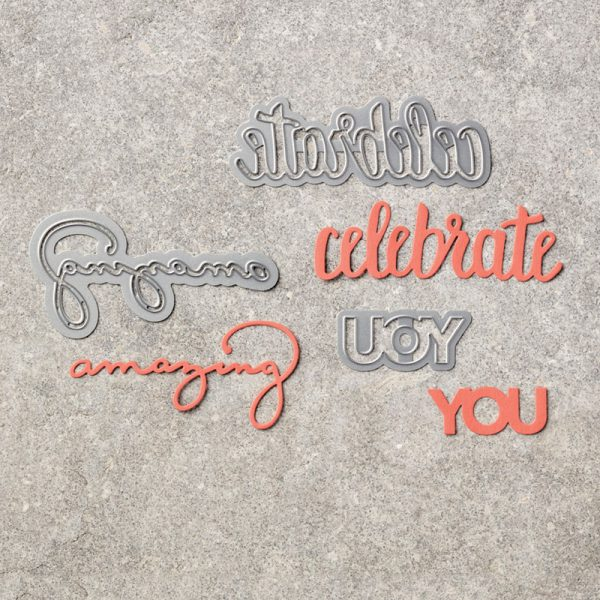 Celebrate You Thinlits Dies, Stampin' Up! 146840