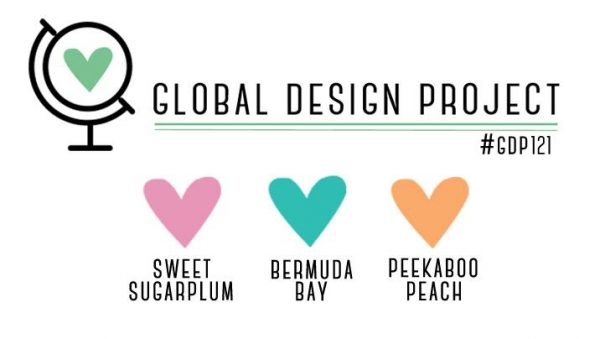 Stampin' Up! Color Inspiration: Sweet Sugarplum, Bermuda Bay, Peekaboo Peach