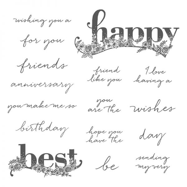 Happy Wishes, Stampin' Up! 147227