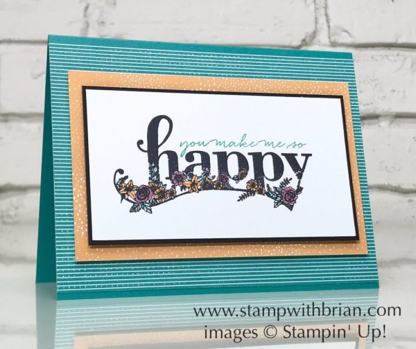 Happy Wishes, Stampin' Up!, Brian King, GDP121
