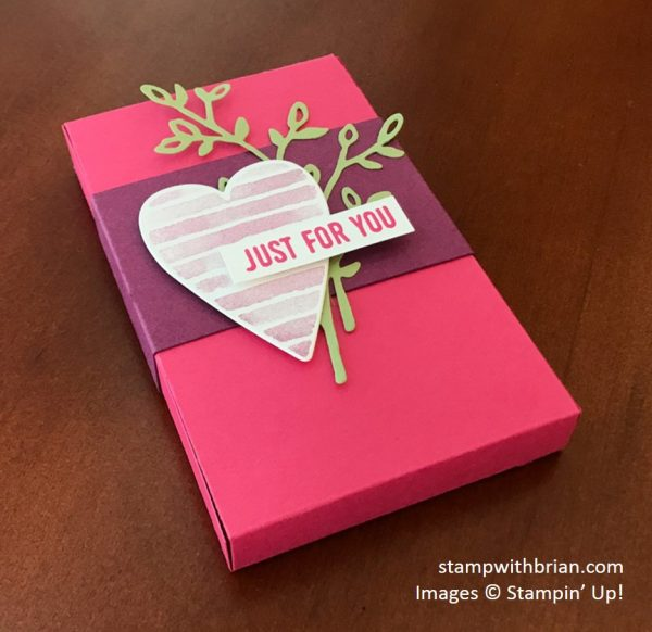 Lots to Love Box Framelits Dies, Sure Do Love You, Heart Happiness, Stampin' Up!, Brian King