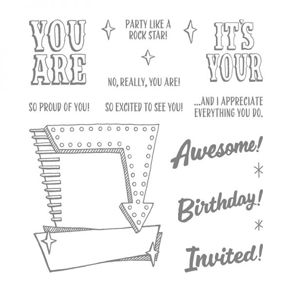 Marquee Messages, Stampin' Up! 141727