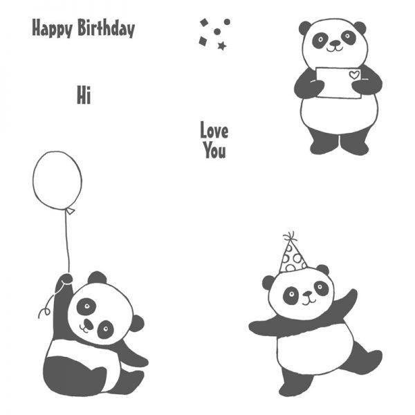 Party Pandas, Stampin' Up! 147221