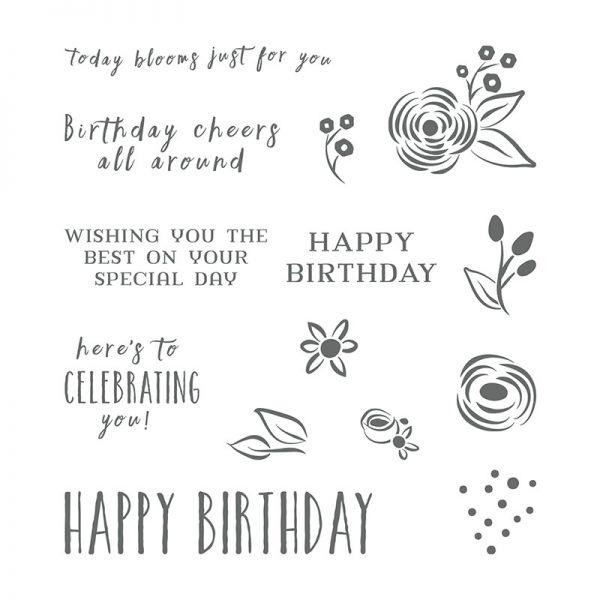 Perennial Birthday stamp set, Stampin' Up! 145760