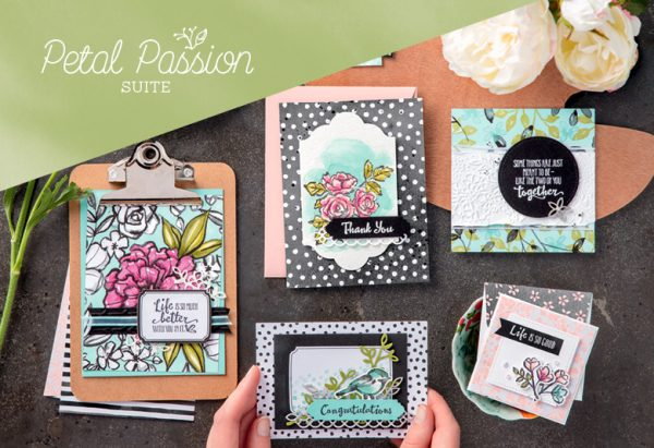 Petal Passion Suite, Stampin' Up!, Brian King 101026