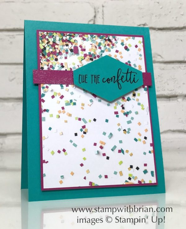 Picture Perfect Birthday, Stampin' Up!, Brian King, CTS255