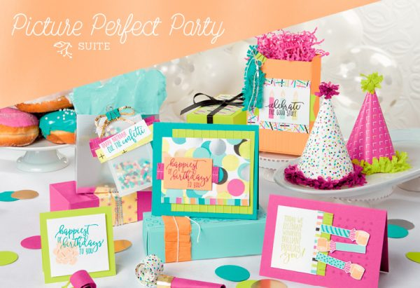 Picture Perfect Party Suite, Stampin' Up!, Brian King 101023
