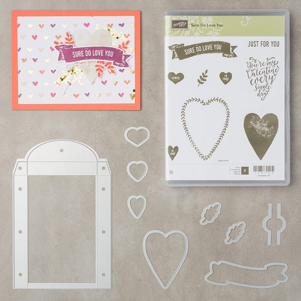 Sure Do Love You Bundle, Stampin' Up! 145966