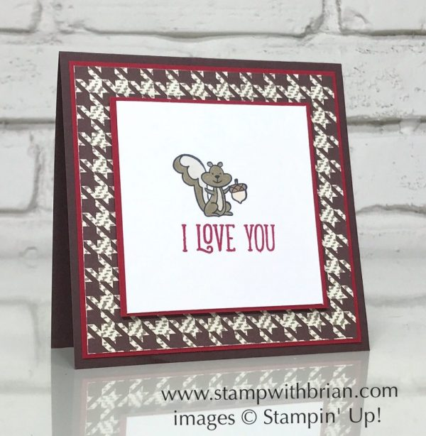 We Must Celebrate, Happy Birthday Gorgeous, Stampin' Up!, Brian King, Valentine's Day card