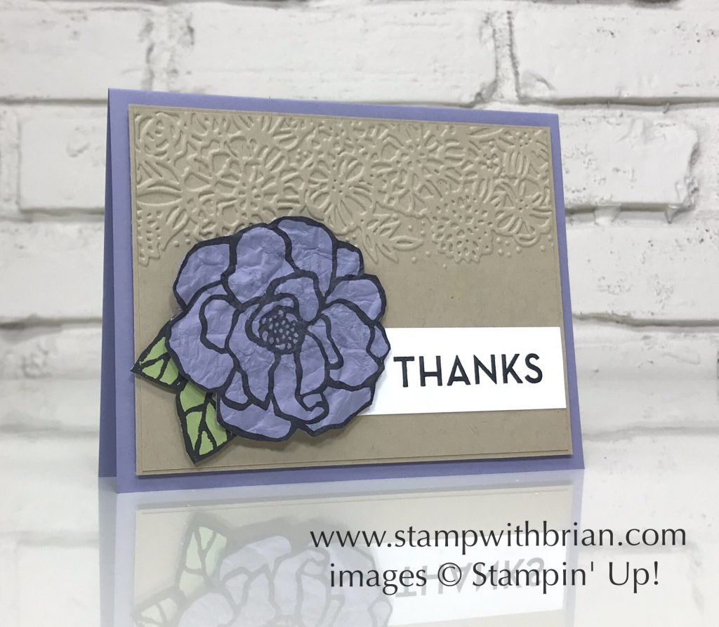 Beautiful Day, One Big Meaning, Stampin' Up!, Brian King
