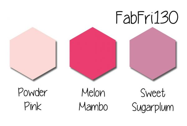 Stampin' Up! Color Inspiration: Powder Pink, Melon Mambo, Sweet Sugarplum