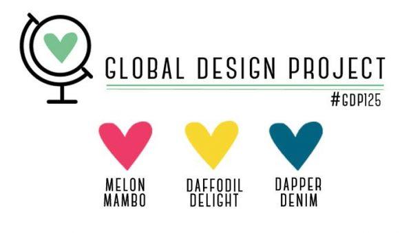 Stampin' Up! Color Inspiration: Melon Mambo, Daffodil Delight, Dapper Denim