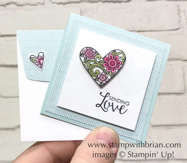 Ribbon of Courage, Stampin' Up!, Brian King, Valentine