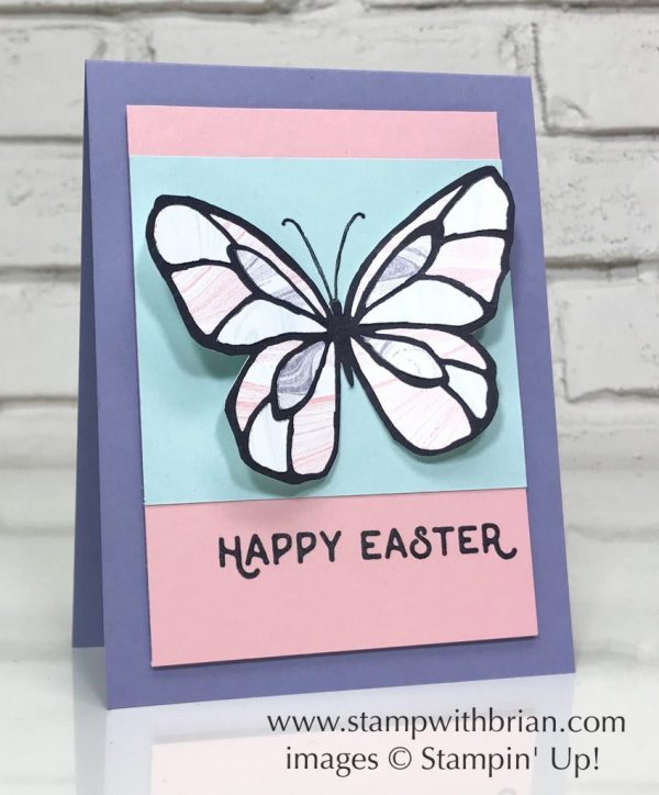 Beautiful Day, Hello Easter, Stampin' Up!, Brian King, Easter card, GDP131