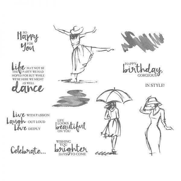 Beautiful You, Stampin' Up! 143637