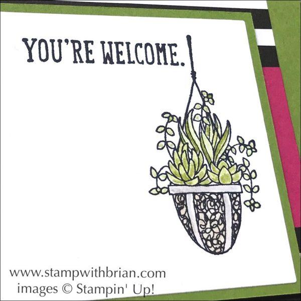 Birthday Wit, Hanging Garden, Stampin' Up!, Brian King