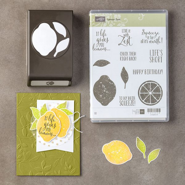 Lemon Zest Bundle, Stampin' Up! 145360