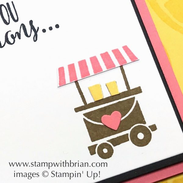 Lemon Zest, Let the Good Times Roll, Stampin' Up!, Brian King