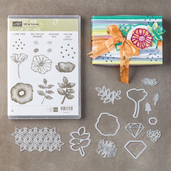 Oh So Eclectic Bundle, Stampin' Up! 145356