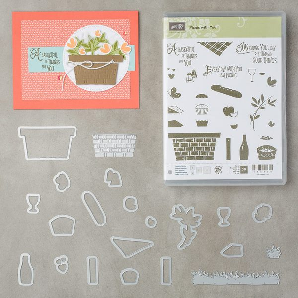 Picnic with You Bundle, Stampin' Up! 145980