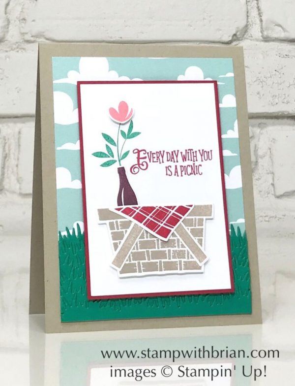 Picnic with You, Stampin' Up!, Brian King
