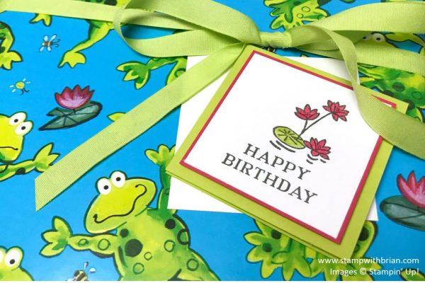 Swan Lake, Perennial Birthday, Stampin' Up!, Brian King