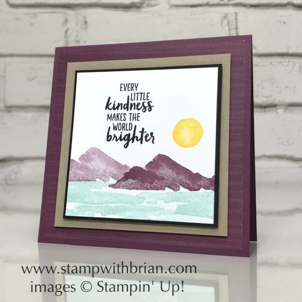 Waterfront, Stampin' Up!, Brian King