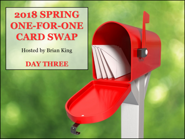 12 Gorgeous Spring Cards, 2018 Spring One-for-One Card Swap Day Three